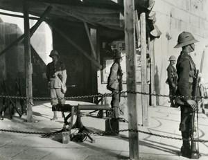 United Kingdom Palestine Occupation British Troops Old photo 1935