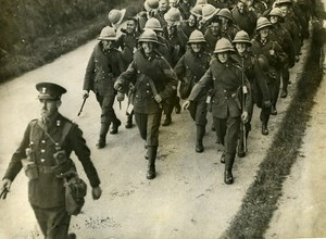 England Southampton British Troops leaving for Palestine Old Photo 1938