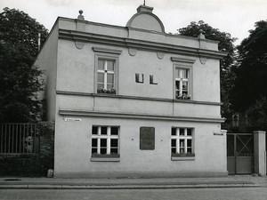 Poland Silesia Bytom Dom Ludowy 38 ul. Armii Ludowej Old Photo 1970