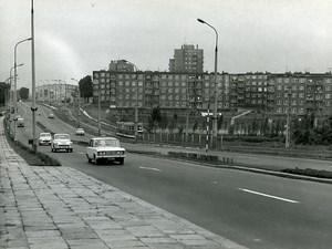 Poland Silesia Bytom Osielde im Arki Bozka Cars Tramway Old Photo 1970