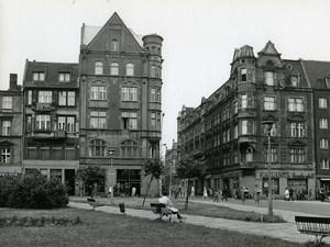 Poland Silesia Bytom Plac Poli Maciejowskiej Old Photo 1970