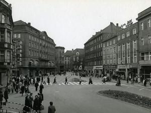Poland Silesia Bytom Plac Tadeusza Kosciuszki Old Photo 1970
