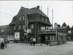 Poland Silesia Bytom Huta Zygmunt Steel Mill Old Photo 1970