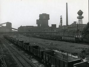 Poland Silesia Bytom Kopalnia Szombierki Coal Mine Old Photo 1970