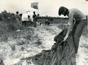 USA Florida St Petersburg Vietnam Veterans Against the War Old Photo Hale 1972