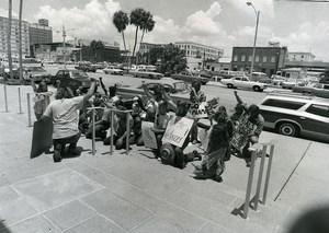 USA Florida St Petersburg Vietnam Veterans Against the War Photo Bennett 1972
