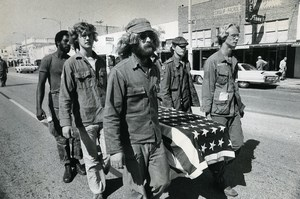 USA Florida St Petersburg Vietnam Veterans Against the War Old Photo Tripp 1972