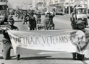 USA Florida St Petersburg Vietnam Veterans Against the War Photo Trabant 1971