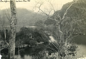 Vietnam Indochina Tonkin Bac Kan View on the Lakes Babe Old Photo 1925