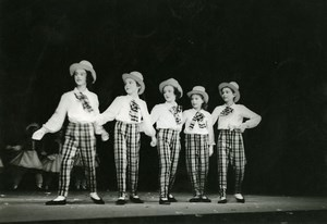 France Vincennes Dance Play Children Old Photo 1960