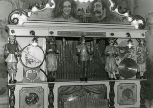 France Fairground Organ Theatre Manufacture de Limonaires Old Photo 1960