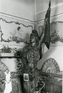 France Merry Go Round Fairground Ride Detail Statue Marianne Old Photo 1960