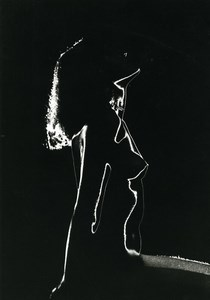 France Risque Nude Woman Solarization Experiment Old Deplechin Photo 1960