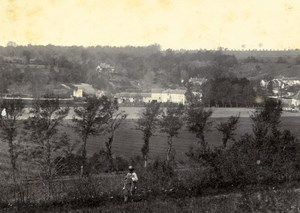 France Tigeaux Mill panorama Old Photo 1892