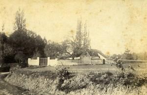 France Orne Belleme Castle Entrance Gate Old Photo 1892