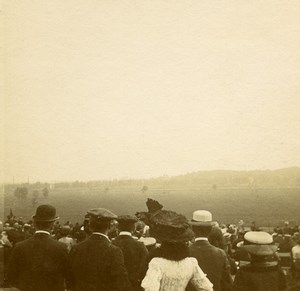 France Jarville Aviation Circuit de l Est Spectators Fashion Stereo Photo 1910