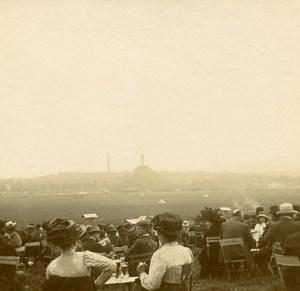 France Jarville Aviation Circuit de l Est Spectators Fashion Stereo Photo 1910