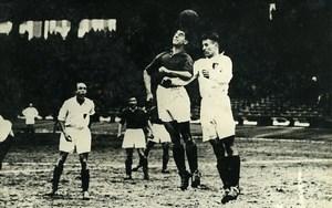 France Parc des Princes Soccer Football Match Nord 1 Nord Est 3 Old Photo 1947