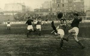 France Saint Ouen Soccer Football Match Metz 1 Red Star 0 Old Photo 1947