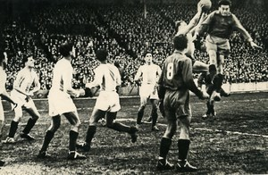 France Colombes Football Match Strasbourg 2 Stade Français 1 Old Photo 1947