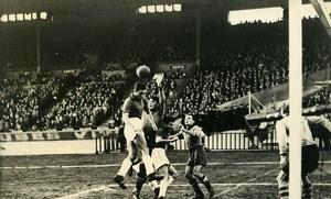 France Paris Soccer Football Match Stade Français 4 CAP 0 Old Photo 1947