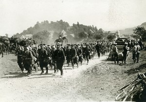 France Grand Military Manoeuvres East Army Walk Old Photo Meurisse 1911
