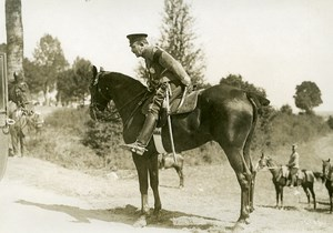 France Grand Military Manoeuvres East Army Horse Old Photo Meurisse 1911