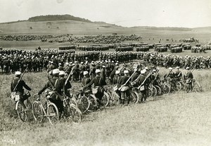 France Grand Military Manoeuvres East Army Troops Old Photo Meurisse 1911
