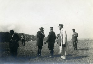 France Grand Military Manoeuvres East Army Officer Old Photo Meurisse 1911