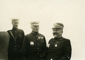 France WWI War Front General John French Earl of Ypres Old Photo Meurisse 1918