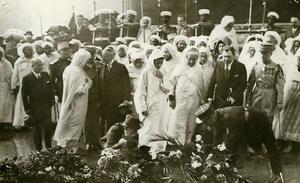 Sidi Mohammed Ben Yusef Sultan Morocco in Paris Unknown Soldier Photo Rol 1931