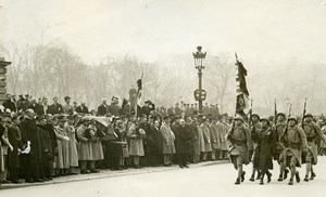 France Paris Invalides Funeral General Berthelot Old Photo Rol 1931