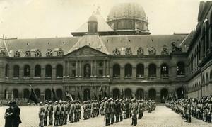 France Paris Invalides Presentation of Colours Ceremony Old Photo Rol 1931
