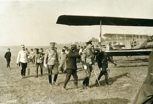 France Aviation Pioneer Captain Felix & Grand Duke Boris Old Photo Meurisse 1911