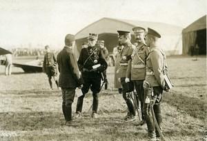 France Aviation Pioneer Lieutenant Martinet Grand Duke Boris Photo Meurisse 1911