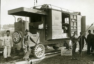 France Military Aviation Workshop Truck Crochat Colardeau Photo Meurisse 1911