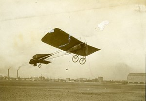 Monoplan Thomann Issy les Moulineaux Airplane Pioneer Old Photo Branger 1911