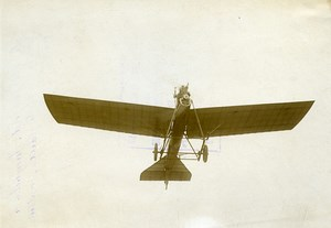 Busson on Deperdussin Monoplane Aviation Pioneer Old Photo Branger 1911