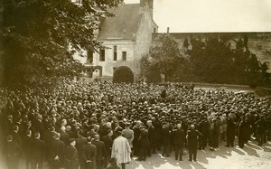 France Nantes Funerals of the victims of Saint Philibert Old Photo Rol 1931