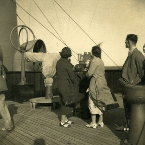 Canadian Pacific Steamship Co Cruise Empress of Britain Passengers Photo 1930's