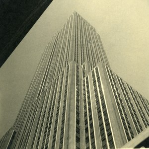 USA New York Empire State Building ? Tourist Trip Abstract Old Photo 1936