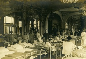 France Military Hospital WWI First World War Army Old Photo SPA 1918