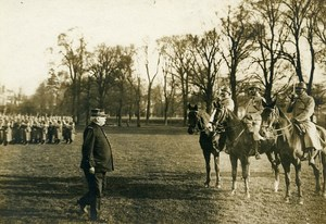 France General Joffre Military Review WWI First World War Army Photo SPA 1918