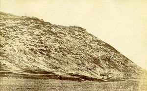 Middle East Mount Carmel Old Anonymous Albumen Photo 1880