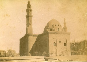 Middle East Egypt Cairo Mosque-Madrassa of Sultan Hassan Old Bonfils Photo 1880