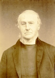 United Kingdom London Portrait Bishop J Wells Old Cabinet Photo Walker 1880