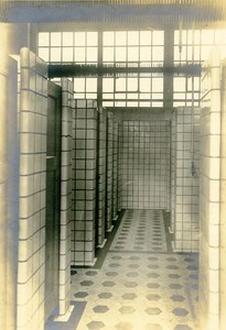 Germany Essen Krupp Dental Steel Factory Workshop Showers Old Photo 1930