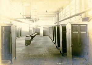 Germany Essen Krupp Dental Steel Factory Workshop Cloakroom Old Photo 1930
