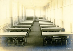 Germany Essen Krupp Dental Steel Factory Workshop Canteen Old Photo 1930