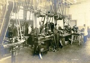 Germany Essen Krupp Dental Steel Factory Workshop Tool Makers Old Photo 1930